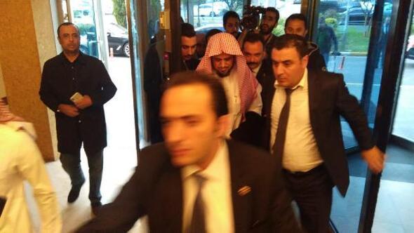 Suudi Başsavcı, ülkesine dönmek üzere Atatürk Havalimanında (1)