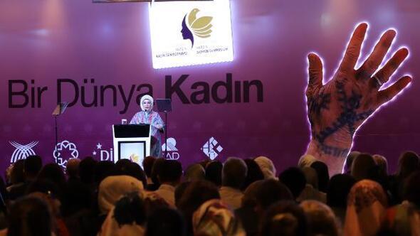 Emine Erdoğan: Kadınlar konusunda önemli noktalara geldiğimizi görmekteyiz