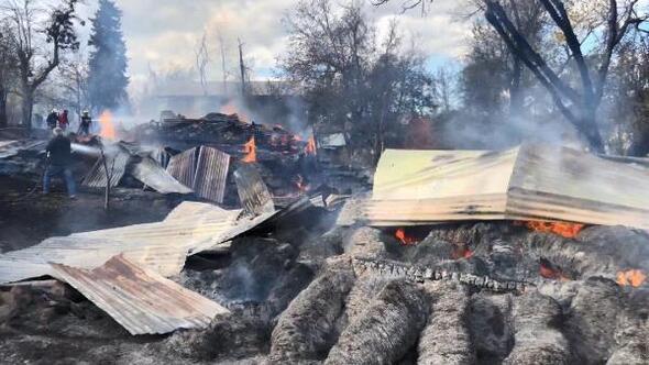 Artvinde çıkan yangın, 31 yıl önceki olayı akıllara getirdi