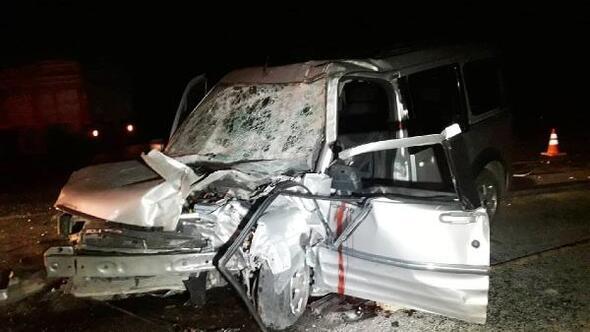 Aksaraydaki kazada eşi ölen kadın ve 2 çocuğu taburcu oldu