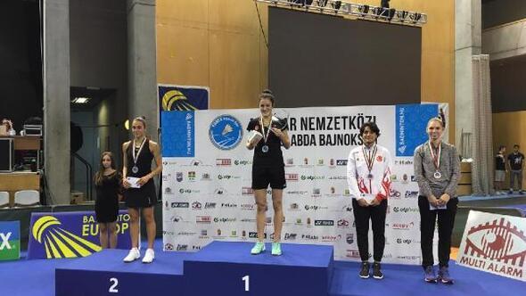 Neslihan Yiğit badmintonda yine şampiyon oldu