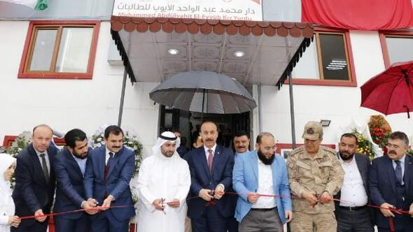 Kuveytliler Şanlıurfa'da yurt açtı