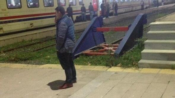 300 yolculu tren Çatalcada arıza yaptı