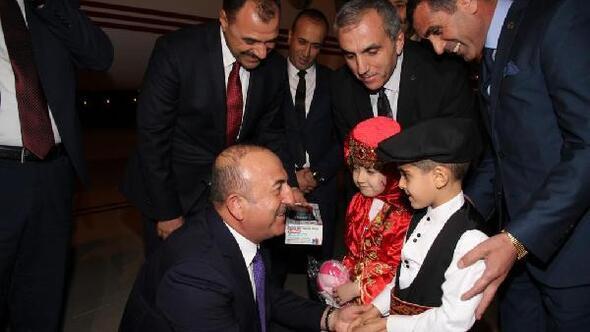 Dışişleri Bakanı Çavuşoğlu, Elazığda