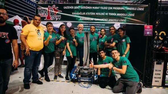 İzmirli Kızlar Robot Takımı, Türkiyeyi ABDde temsil edecek