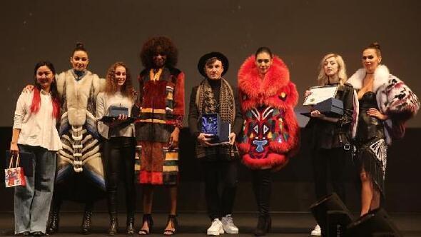 Kürk sektörünün genç tasarımcıları İstanbulda yarıştı