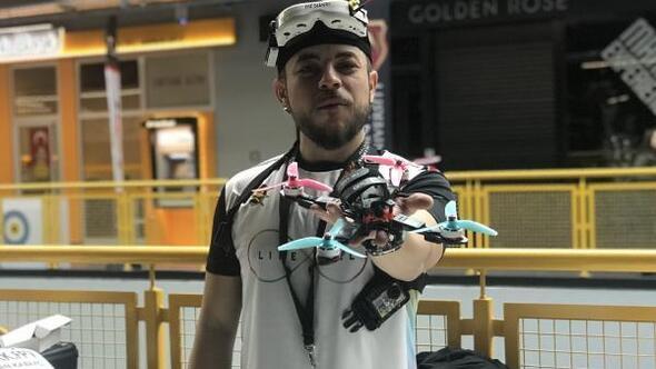 Droneların gözünden yarış heyecanı