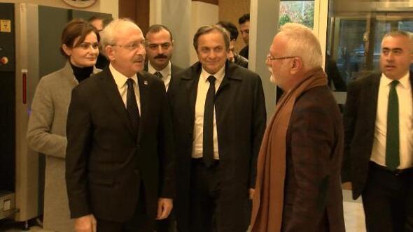 Kılıçdaroğlu cenaze töreninin ardından Ankaraya gitti