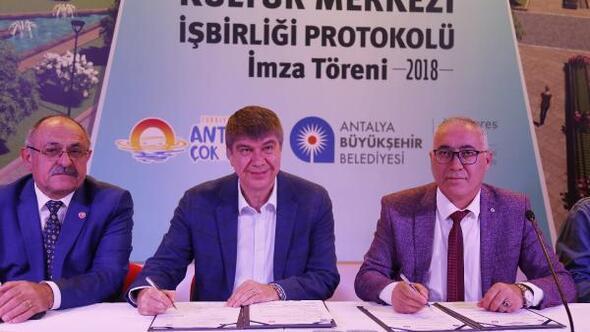 Cemevi protokolu imzalandı