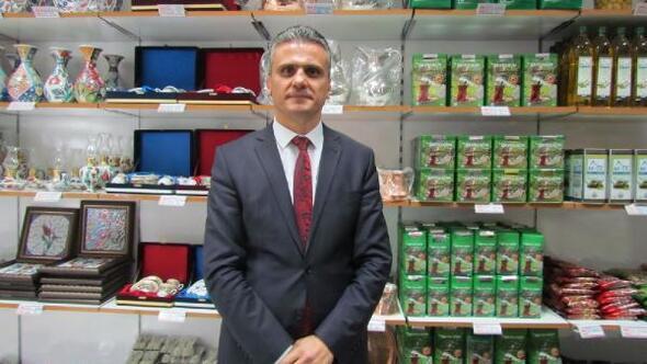 Rizede hükümlülerin el emeği ürünler satışa sunuldu