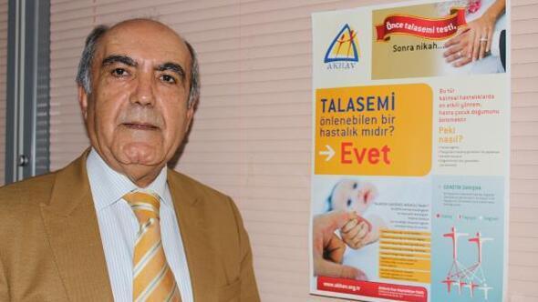 Antalya, talasemide Türkiyenin referans merkezi olmalı