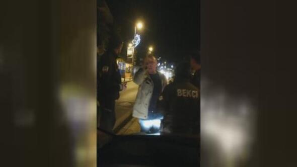 Çekmekköyde Uber-taksici gerilimi