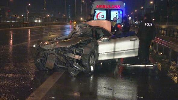 Kartalda trafik kazası: 1 ağır yaralı
