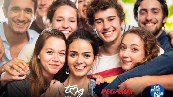 Pegasus gençleri 'Yarınlara Uçuruyor'