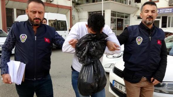 Market çalışanlarının telefonlarını çalan zanlı tutuklandı
