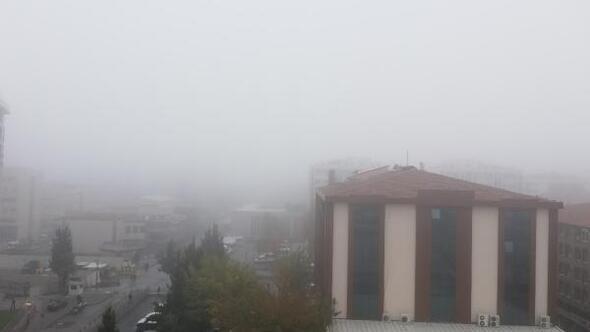 Gaziantepte ulaşıma sis engeli