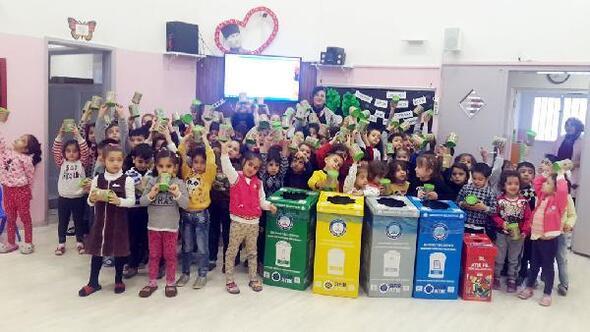 Gaziantepte 165 bin öğrenciye çevre eğitimi