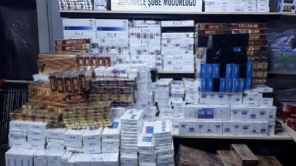 Ankara merkezli 4 ilde kaçak sigara operasyonu: 23 gözaltı