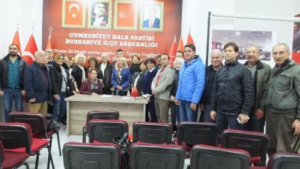 CHP, Burhaniyede seçim startını verdi