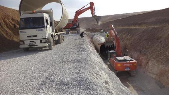 DSİ Bünyan- Sarıoğlan sulamasına ağırlık verdi