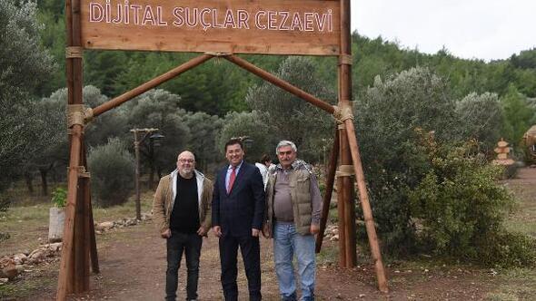 Başkan Tokat Dijital Esaret filminin setini ziyaret etti