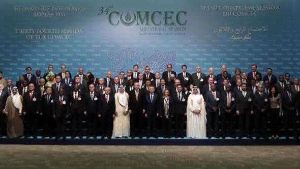 Fotoğraflar// Erdoğan, İSEDAK ülke temsilcileriyle aile fotoğrafı çektirdi