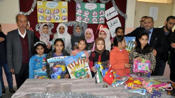 Suriyeli öğrencilere ödül