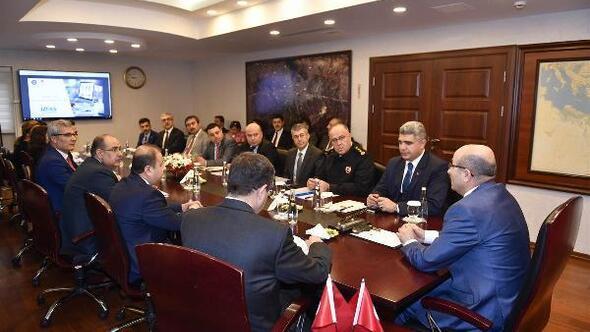 İZDES Toplantısı, Vali Mahmut Demirtaş başkanlığında yapıldı