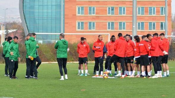 Kayserispor, Trabzonspor hazırlıklarına hız verdi