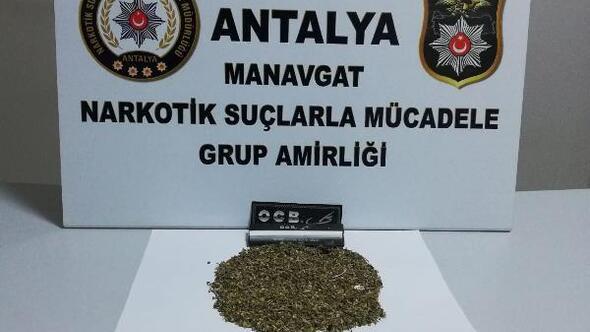 Manavgatta uyuşturucu operasyonu