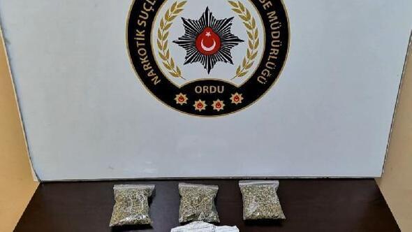 Ordu'da uyuşturucu operasyonu: 4 tutuklama