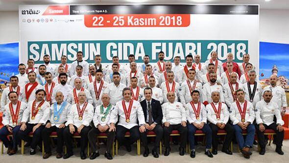 Gıda sektörü Samsun'da buluştu