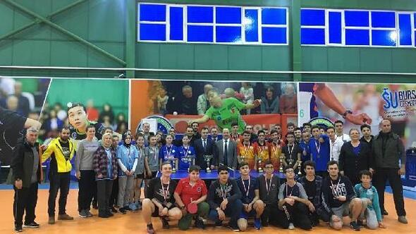 Okul sporları masa tenisi müsabakaları tamamlandı