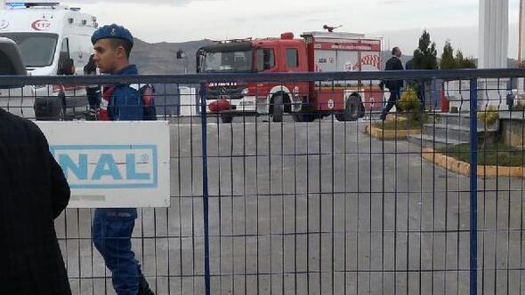 Kırıkkalede gaz dolum tesisinde patlama: 1 ölü, 2 yaralı (1)