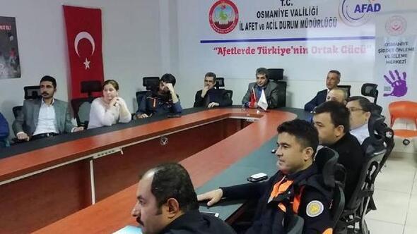 AFADda Kadına Yönelik Şiddetle Mücadele semineri