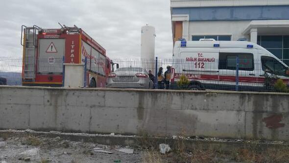 Kırıkkalede gaz dolum tesisinde patlama: 1 ölü, 2 yaralı (2)