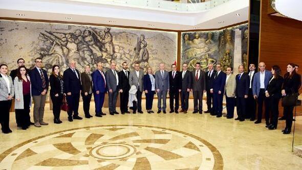 Gaziantep ile Kıbrısın ticari ilişkileri artacak