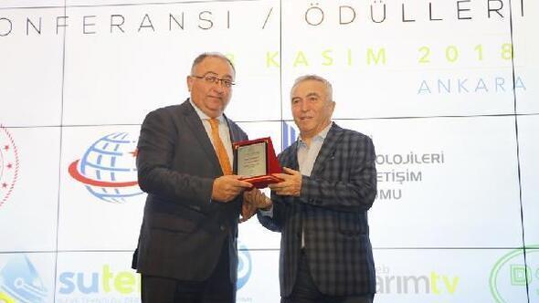 Yalova'ya Çevre Dostu Şehir Ödülü