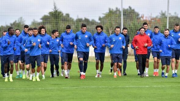 Antalyasporda Göztepe hazırlıkları sürüyor