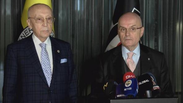 Beşiktaş ve Fenerbahçenin Divan Kurulu Başkanları bir araya geldi