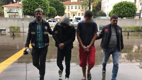 Radyatör hırsızlığı şüphelisi tutuklandı
