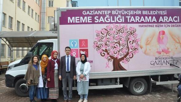 Nizipe, mobil mamografi cihazı
