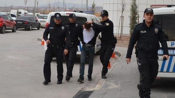 Ankarada cezaevinden firar eden zanlı, Aksarayda yakalandı