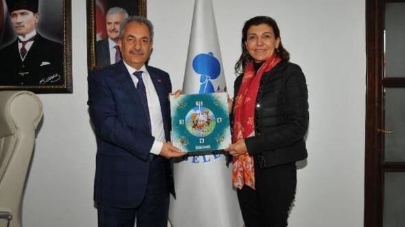 Türkiye Satranç Federasyonundan başkan Akkayaya ziyaret