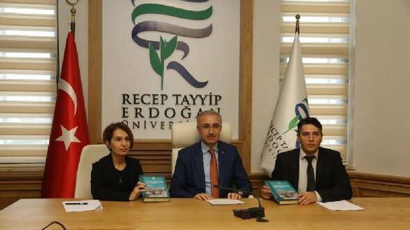 RTEÜ'de Cumhuriyet Döneminde Rize-1 kitabı tanıtıldı