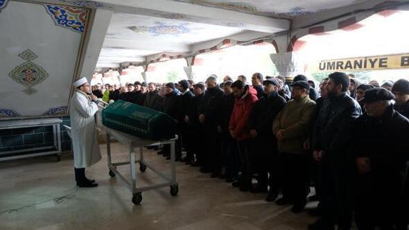 Viyadük enkazında ölen işçi son yolculuğuna uğurlandı