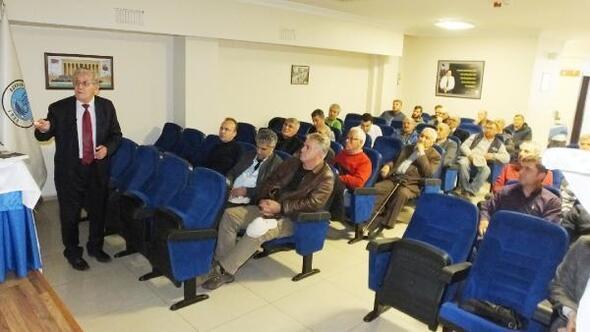 Burhaniye'de Zeytinde Dengeli ve Doğru Gübreleme'  konferansı