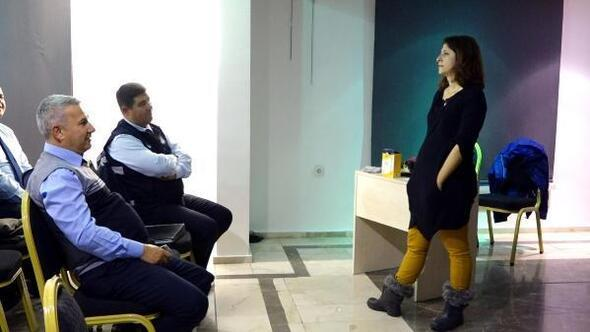 Marmariste belediye personeline etkili iletişim ve diksiyon eğitimi