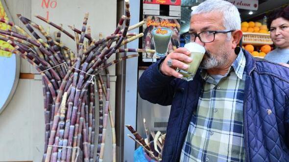 Şeker kamışı kültürü Adanada yaşatılıyor