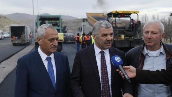 Başkan Çelik, İncesuda asfalt çalışmalarını inceledi